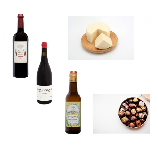 June's Tasting Club features two wines and a Sherry from Spain